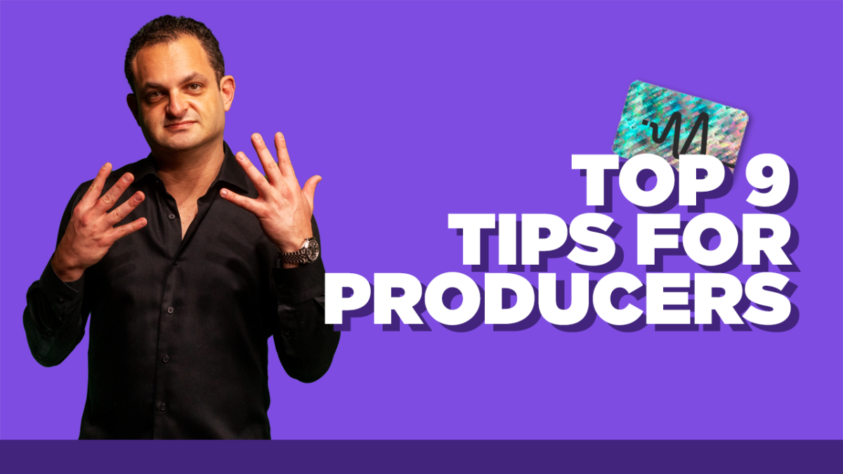 Improve Music Production Skills - Top 9 Tips for Producers