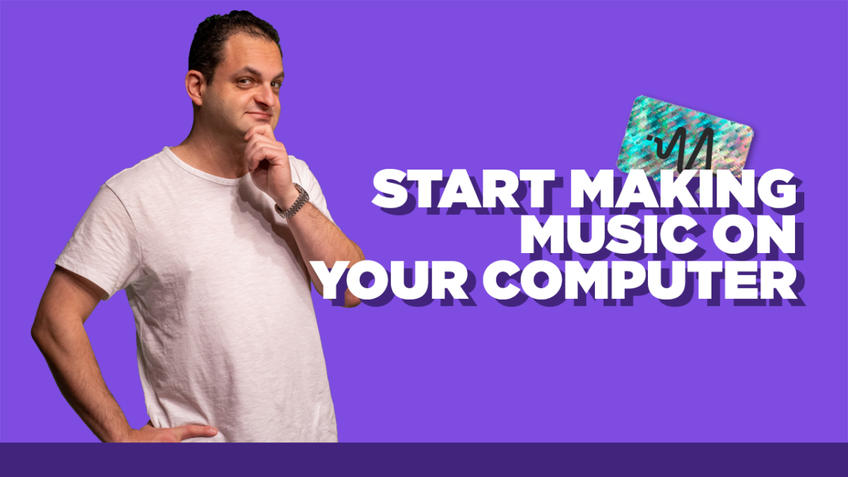 How To Produce Music for Beginners - How To Start Making Music on Your Computer