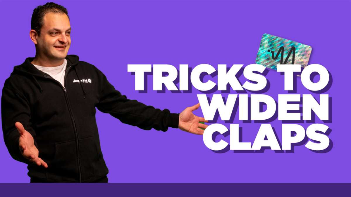 Tricks to Widen Claps - Mixing Claps