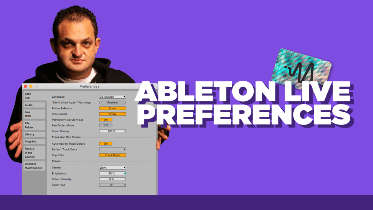 Ableton Live Preferences - Ableton Live 11 Tutorial