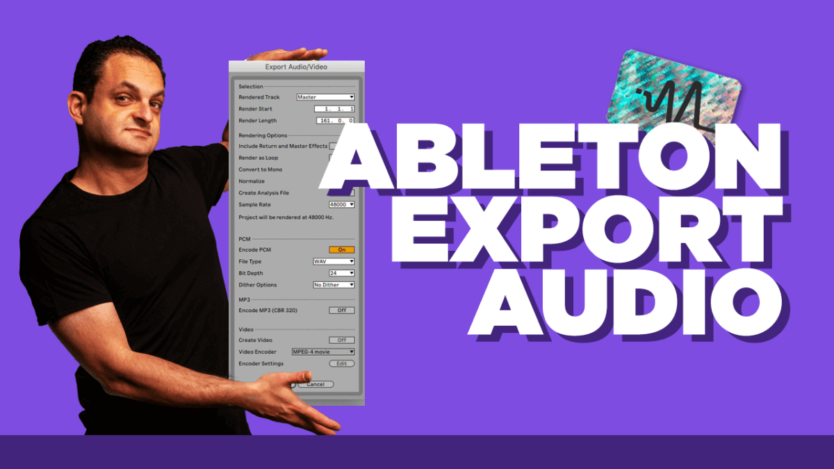 Ableton Live Export Audio - Ableton Live 11 Tutorial
